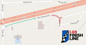 Southview Drive map